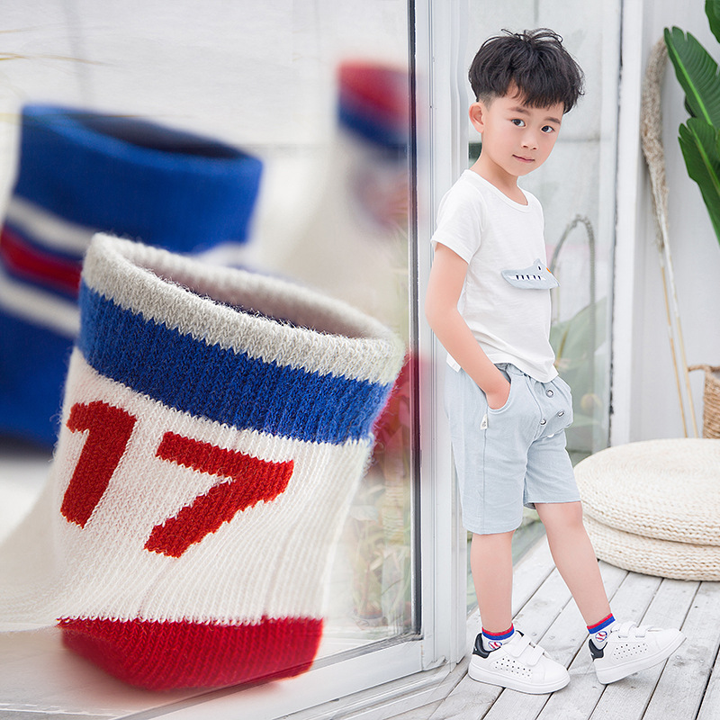 MAINEOUTH 5 Paren / partij 2-15 Jaar NIEUWE Lente Zomer Cool Mesh Sok - Kinderkleding - Foto 4