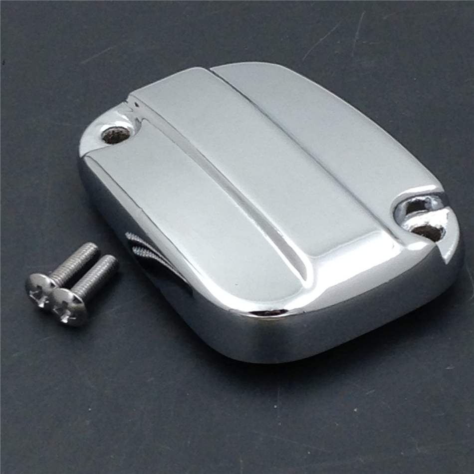 Aftermarket free shipping motor parts Front Brake Fluid Reservoir Cap For 2007-2015 Harley Davidson Electra Glide Road  CHROMED aftermarket free shipping motorcycle parts eliminator tidy tail for 2006 2007 2008 fz6 fazer 2007 2008b lack