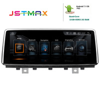 JSTMAX 10.25 PX3 Android 7.1 OS Car Radio Player For BMW X5 X6 2014 2017 With 2G RAM+32G ROM GPS Navi SWC BT Music OBD DVR