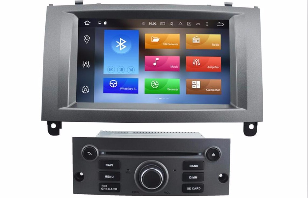 4G LTE Android 8 0 font b CAR b font DVD GPS For PEUGEOT 407 support