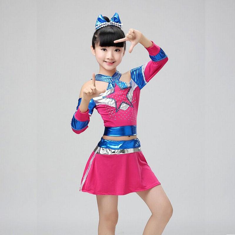 Cheerleader Dress Barn Cheerleading Custome Aerobics Kläder med strumpa