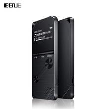 лучшая цена 2018 BENJIE K6 Sport MP3 Player A-B Repeat Loudspeaker Variable Speed Playback 8G Music Player FM Hifi Portable Recorder
