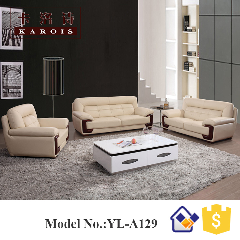 US $838.0 |sectionals sofa from aliababa supplier made in china leather  sofa design,home furniture,living room hotel sofa-in Living Room Sofas from  ...