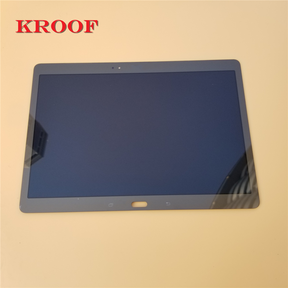 KROOF 10.5 LCD Display with Touch Screen Digitizer Sensor Full Assembly for Samsung Galaxy Tab S T800 T805 SM T800 SM T805