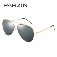 PARZIN Quality Metal Pilot Sunglasses Men Classic Cool Aviator Sunglasses Men 2017 Summer Polarized Glasses For Driver PZPOL8169