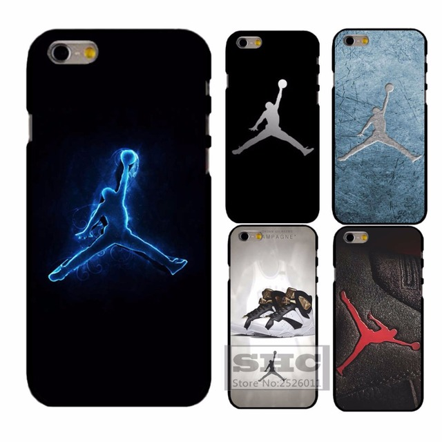 pretty nice fd25c f2f39 US $4.99 |air jordan in brands colletc plastic Cover Case for iphone 4s 5s  SE 5c 6 6s plus 7 Samsung S3/4/5/6/7 mini Note3 4 A3 A5 Touch 5 on ...