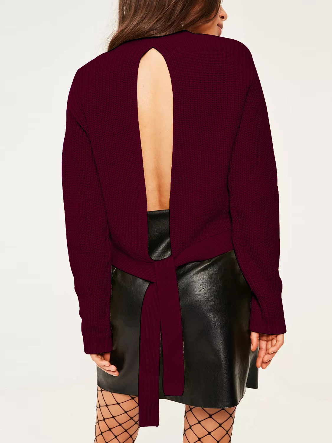 Compare Prices on Burgundy Sweater Women- Online Shopping/Buy Low ...