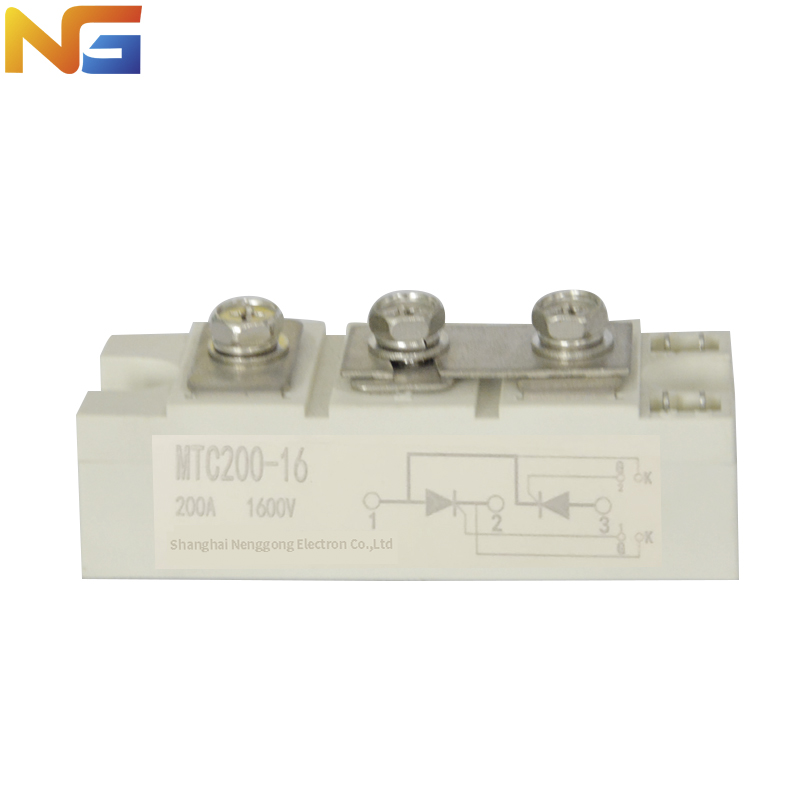 Thyristor SCR shanghai nenggong MTC 200 A Silicon Controlled Rectifier Module цена