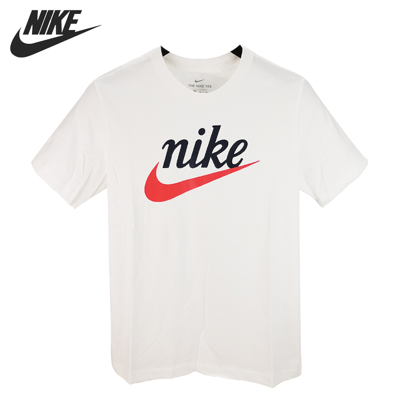 Hombre Nike M NSW tee Air Photo Camiseta de Manga Corta