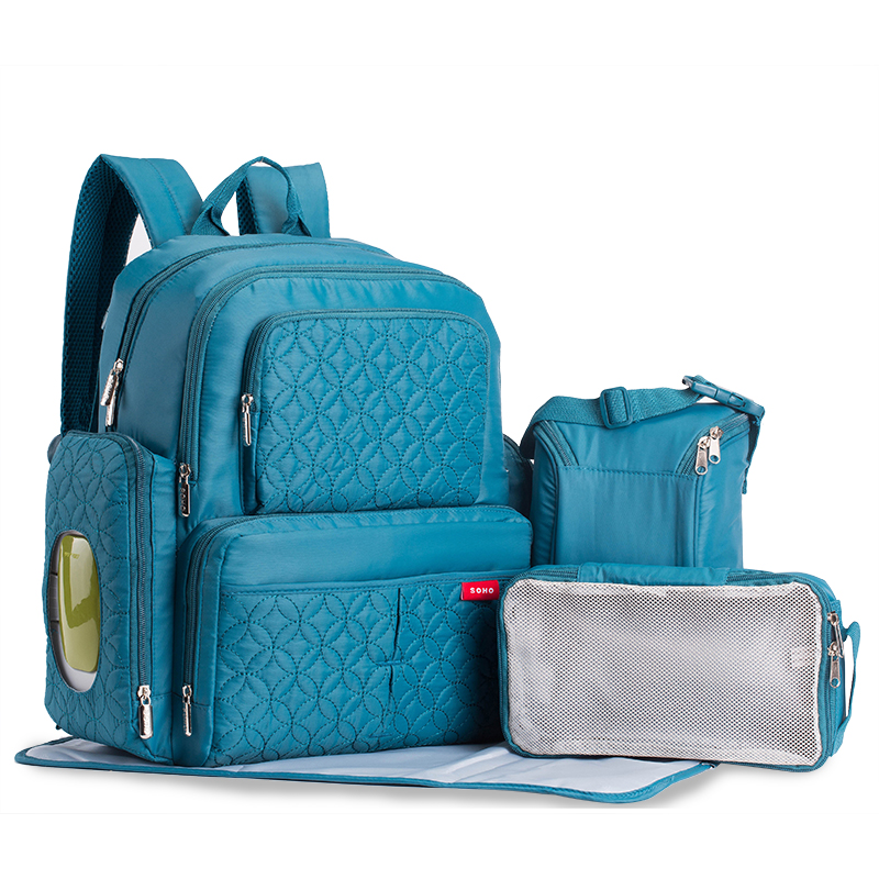 Baby Bag Fashion Nappy Bags Large Diaper Bag Backpack Baby Organizer Maternity Bags For Mother Handbag Baby Nappy Backpack bebear new baby diaper bag with exclusive insulated bag mother nappy bags travel backpack waterproof handbag for moms tote bags
