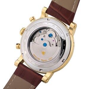 Image 4 - 200 m עמיד למים Mens שעונים למעלה מותג יוקרה אוטומטי מכאני שעון גברים מלא פלדה עסקי ספורט שעונים Relogio Masculino