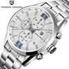 2016 Watches Men Luxury Brand Sport Wristwatch Dive 30m Military Multifunction Quartz Watch PAGANI DESIGN Clock