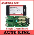 test befor send ! single green nec board Multidiag pro+ without Bluetooth cdp pro and newest software 2015.1 for cars and trucks