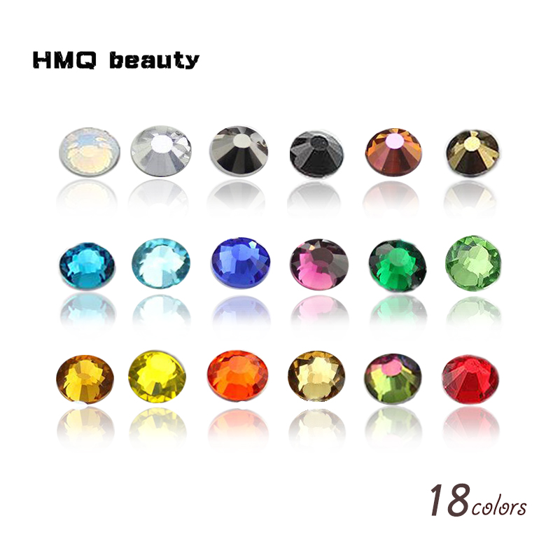 Nail Art Rhinestone Mix SS3-SS30 size rhinestones Luxury 3D Nail Decoration for nails DIY strass glitters Non HotFix crystals 10pcs gold 3d rudder metal flower pearl music note mixed rhinestones cross nail art decoration jewelry nails supplies y180 187