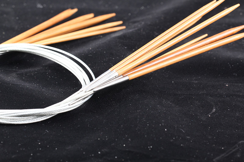 Buy 2016 hand knitting tools, bamboo ring knitting needle high-grade wire circular crochet needle smooth and durable for $4.74 in AliExpress store