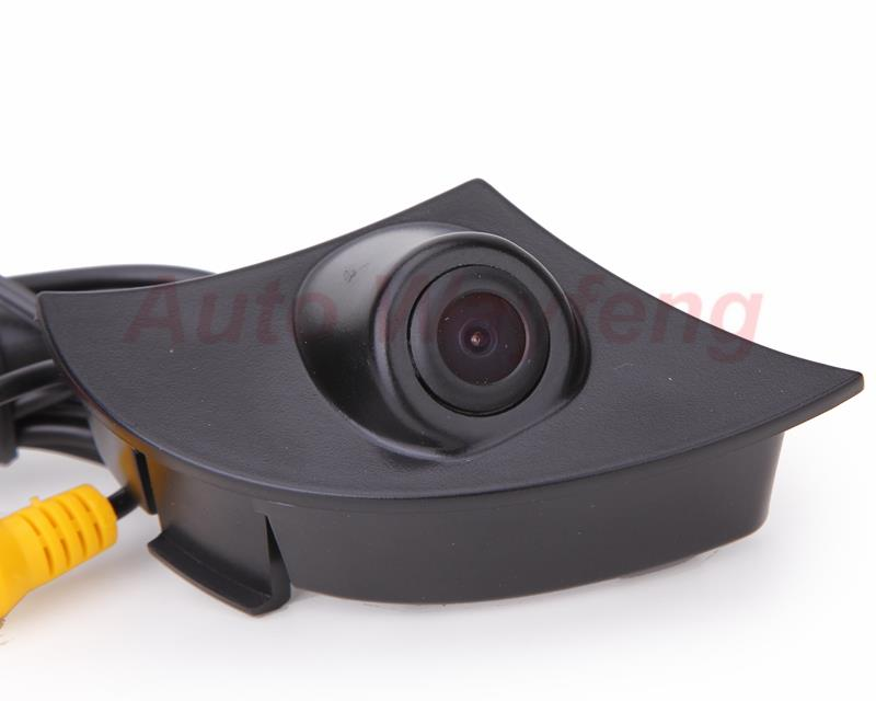 2015 Hd Ccd Car Front View Camera For Toyota Rav4 Corolla