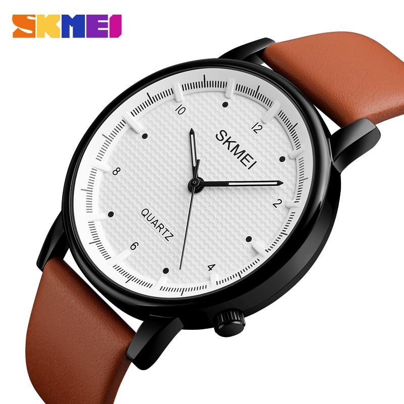 SKMEI Quartz Herenhorloge Minimalistische Waterdichte Sport Horloges - Herenhorloges