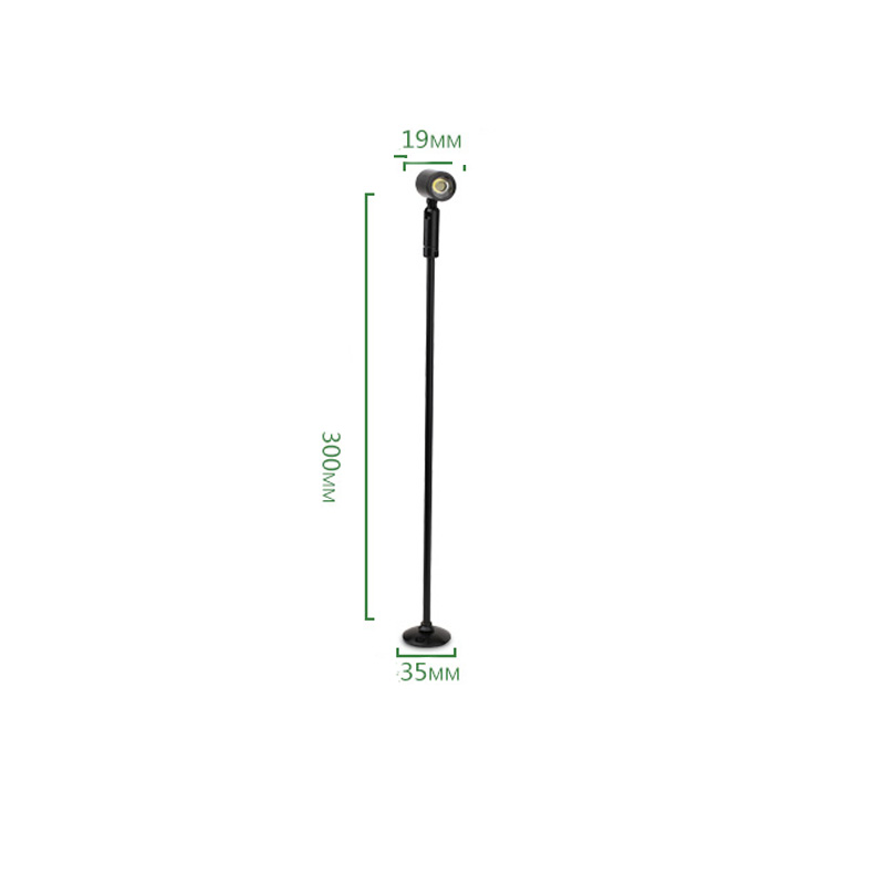 miniluminaria led para teto holofote leve 1w 3w ac 110v 220v 04