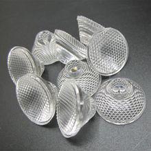50 шт. 1 Вт 3 Вт светодиодный оптических линз, 20 мм Диаметр pmma высокой мощности светодиодный линзы 5/15/30/45/60/80 градусов поверхность шариков для светодиодный светильник