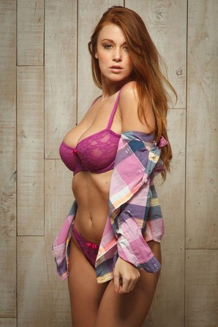 Leanna Decker Sexy Girl Usa Hot Star Fabric Poster  Decor 15