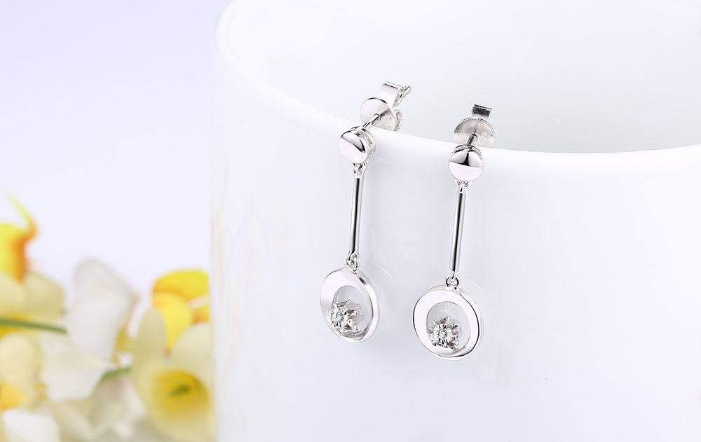 silver diamond earrings (1)