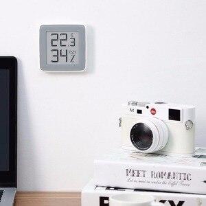 Image 2 - Xiaomi miaomiaoce e link tinta tela inteligente display digital medidor de umidade de alta precisão termômetro sensor de umidade de temperatura