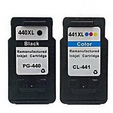 1 Компл. Для Canon pg-440 cl-441 PG440 CL441 Картридж PG 440 CL 441For MG2180 MG3180 MG4180 MG4280 Струйный Принтер Горячей Продажи