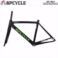 Smileteam Full Carbon Road Bicycle Frame Bike Racing Carbon Frames With Fork Road Bike Frame 2