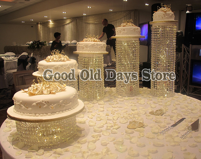 5pcs Birthday Decoration Cake Display Big discount wedding Banquet ...