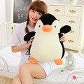 Nueva Lindo de Una Pieza del Bebé de la Alta Calidad Encantadora Del Pingüino Animales Super Suave de Algodón PP de Peluche Muñecos de Pingüinos de Peluche Juguetes de Los Niños presenta