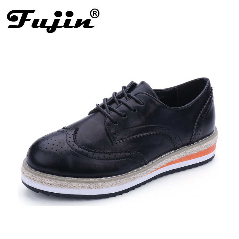 ФОТО FLAT Oxford Shoes For Women Flats 2017 Fashion Brogue Oxford Women Shoes moccasins sapatos femininos sapatilhas zapatos mujer
