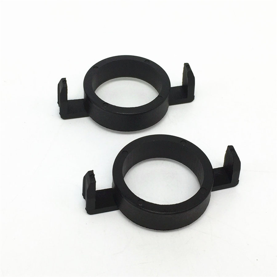 2pcs <font><b>H7</b></font> <font><b>LED</b></font> clip retainer adapter holder for <font><b>Peugeot</b></font> 508 <font><b>2008</b></font> 3008 headlight adaptor base for <font><b>Peugeot</b></font> Ford Mondeo lights holder image