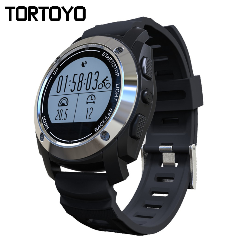 2017 S928 Bluetooth GPS Outdoor Sports Smart Watch IP66 Life Waterproof with Heart Rate Monitor Pressure for Android 4.3 IOS 8.0 no 1 d5 bluetooth smart watch phone android 4 4 smartwatch waterproof heart rate mtk6572 1 3 inch gps 4g 512m wristwatch for ios
