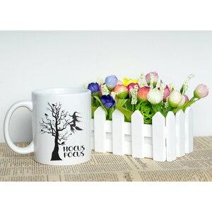 Image 5 - הוקוס פוקוס ליל כל הקדושים מכשפה נושאים מתנה חדש עצם סין ספל קפה קלאסי עם ייחודי עיצוב הטוב ביותר ליל כל הקדושים מתנת כוס