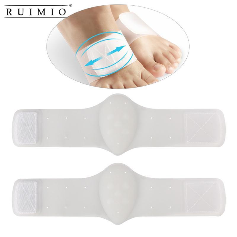 Arch Support Bandage Cushions Silicone Band Pad Inserts Shoes Feet Arch Support Protective Sleeve Insoles Pain Relief Foot Care