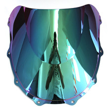 цена на For Kawasaki ZX7R WindScreen 1996-2006 Year Motorcycle ZX 7R 2000 2001 2002 2003 2004 2005 Windshield Iridium Wind Deflector