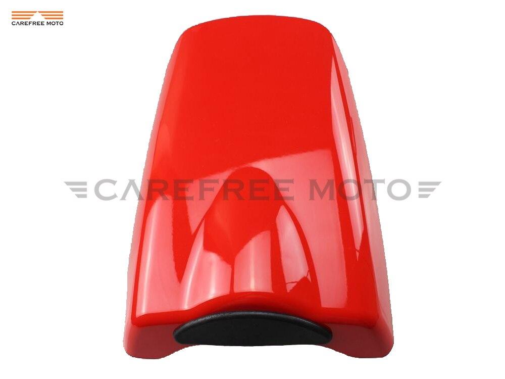 Coque de carénage de capot de couverture de siège arrière de motos rouges pour Honda CBR954RR CBR 954RR 2002 2003 - 2