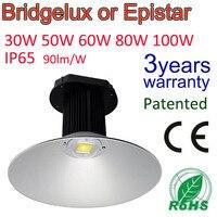 Профессиональный промышленного свет 50 Вт залива СИД высокий Освещение свет лампы IP65 склад промышленных фабрика коммерческих