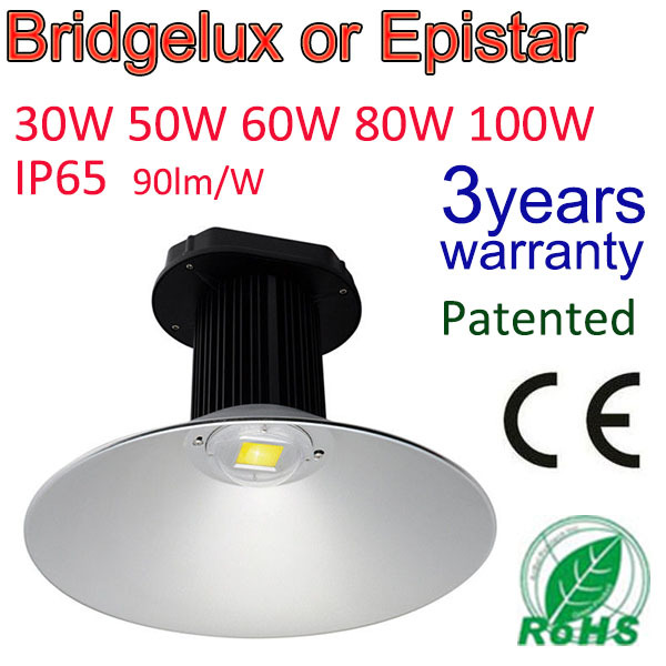 Professional industrial light 50w Led High Bay Lighting Light Lamp IP65 Warehouse Industrial Factory Commercial