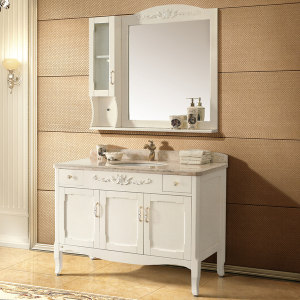 ivory and foil paint silver oak cabinet and mirror, Breccia Oniciata ...
