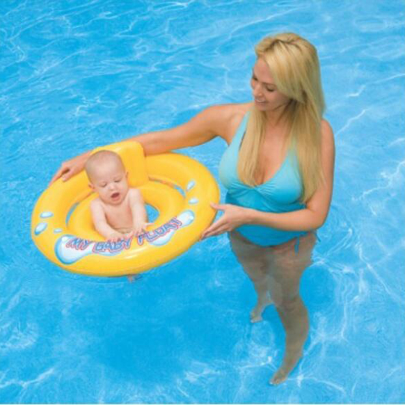 Baby Swimming Ring Inflatable Infant Armpit Floating Swimming Ring For Kids Swim Pool Accessories Circle Bathing Inflatable