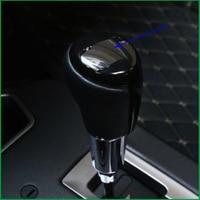 Car Styling ABS Plastic Gear Shift Knob Head Cover Trim Decoration Sticker For Toyota RAV4 RAV 4 2014 2015 2016 2017