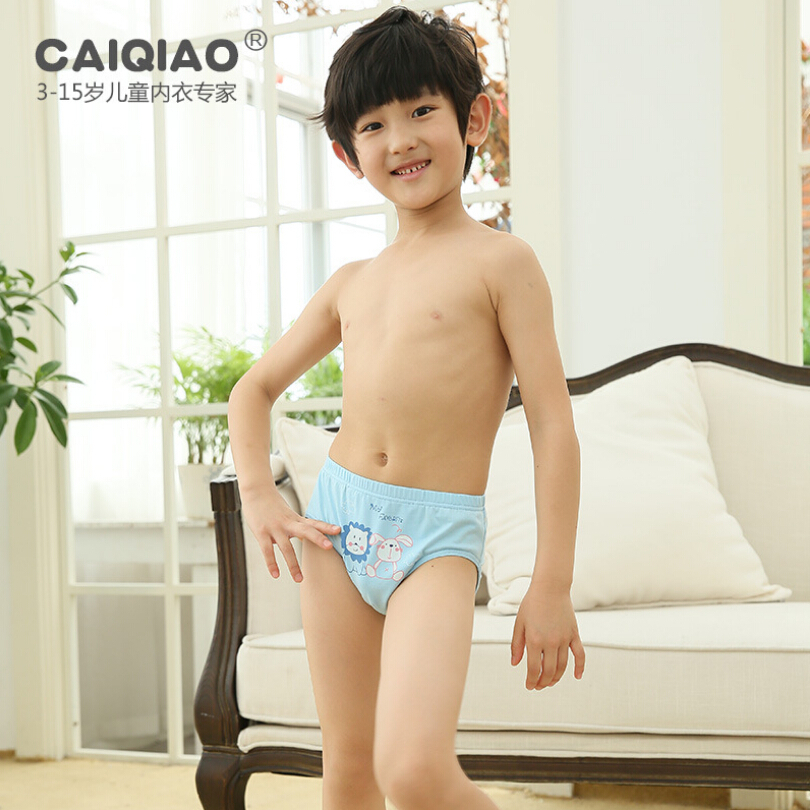 CAIQIAO Brand high quality underwear baby kids pants boys ...