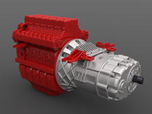 JD-100 Continuously Variable Transmission Gearbox
