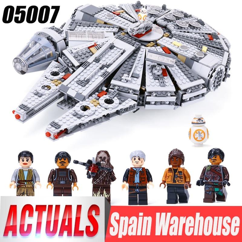 Wars Falcon Millennium Legoings Construction Blocs De Star Lepin Modèle Destroyer 05132 Jouets 75192 Briques Éducatifs v0yNmw8nO