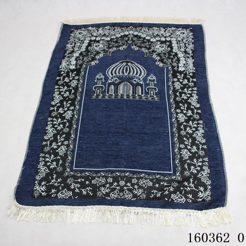 Islamic Muslim wool Prayer Mat Blanket Salat Musallah Prayer Rug Tapis Carpet Tapete Banheiro Islamic Praying Mat 115 75cm free in Women 39 s Scarves from Apparel Accessories