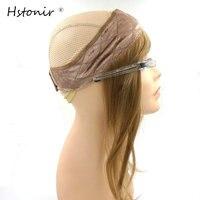 Hstonir Jewish Wig I Band Head Kosher Wig Head Band Lace Grip European Hair Soft Natural
