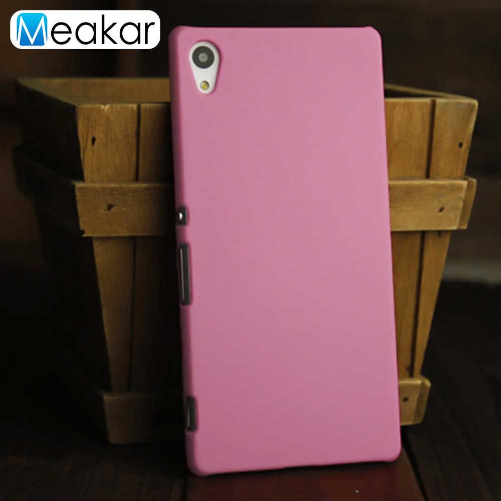Matte Plastic Coque Cover 5.2For Sony Xperia Z4 Case Voor Sony Xperia Z4 Z3 Plus Dual E6533 E6553 Telefoon Terug coque Cover Case