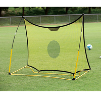SKLZ портативная 8*5 дюймов футбольные ворота односторонняя двухсторонняя останавливающая сетка для школы футбольной тренировки футбольной ...