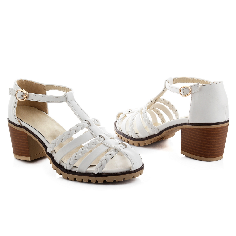 Popular Silver Thick Heels-Buy Cheap Silver Thick Heels lots from ...